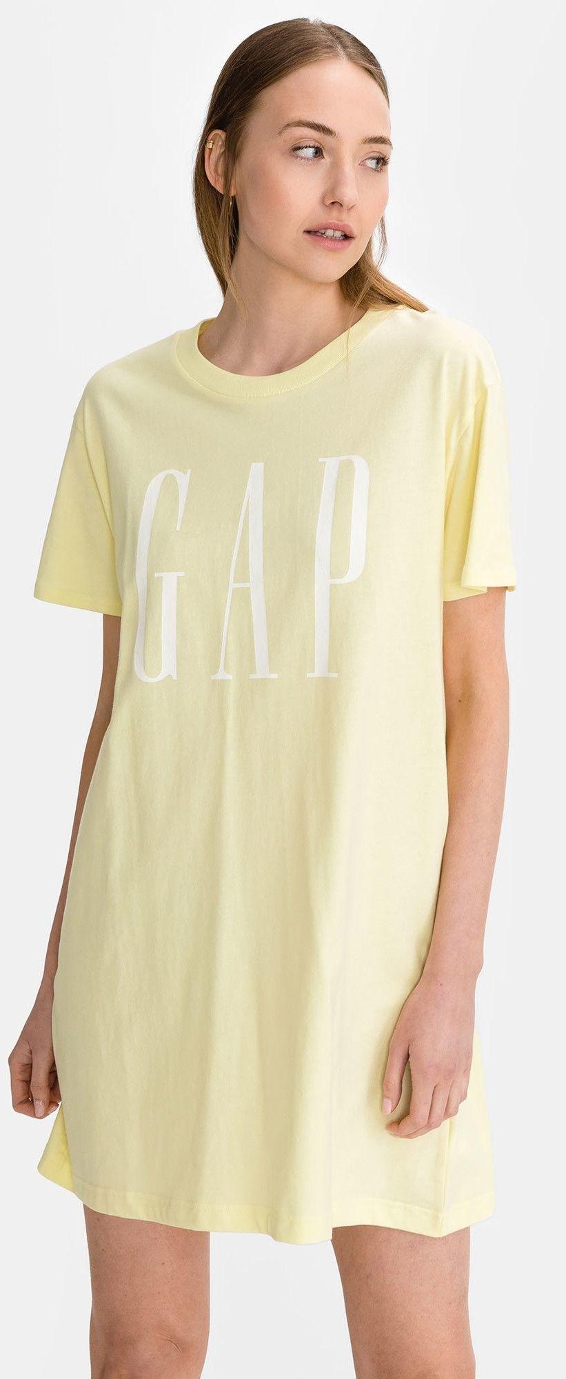 GAP sukienka Logo T-shirt Dress