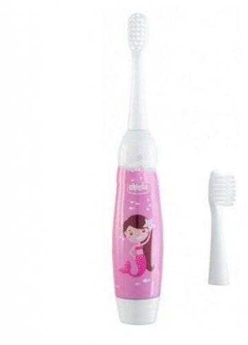 Chicco elektryczna szczoteczka do zębów dla dzieci - pink