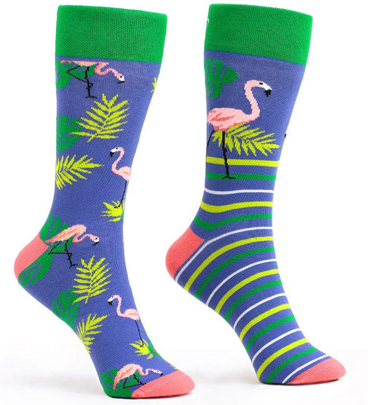 Skarpetki kolorowe WannaBreak Flamingo