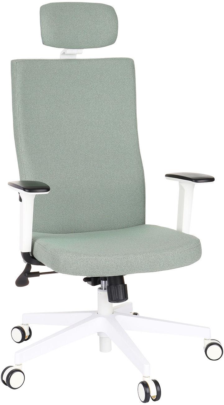 Krzesło Team Plus HD White, biurowe białe