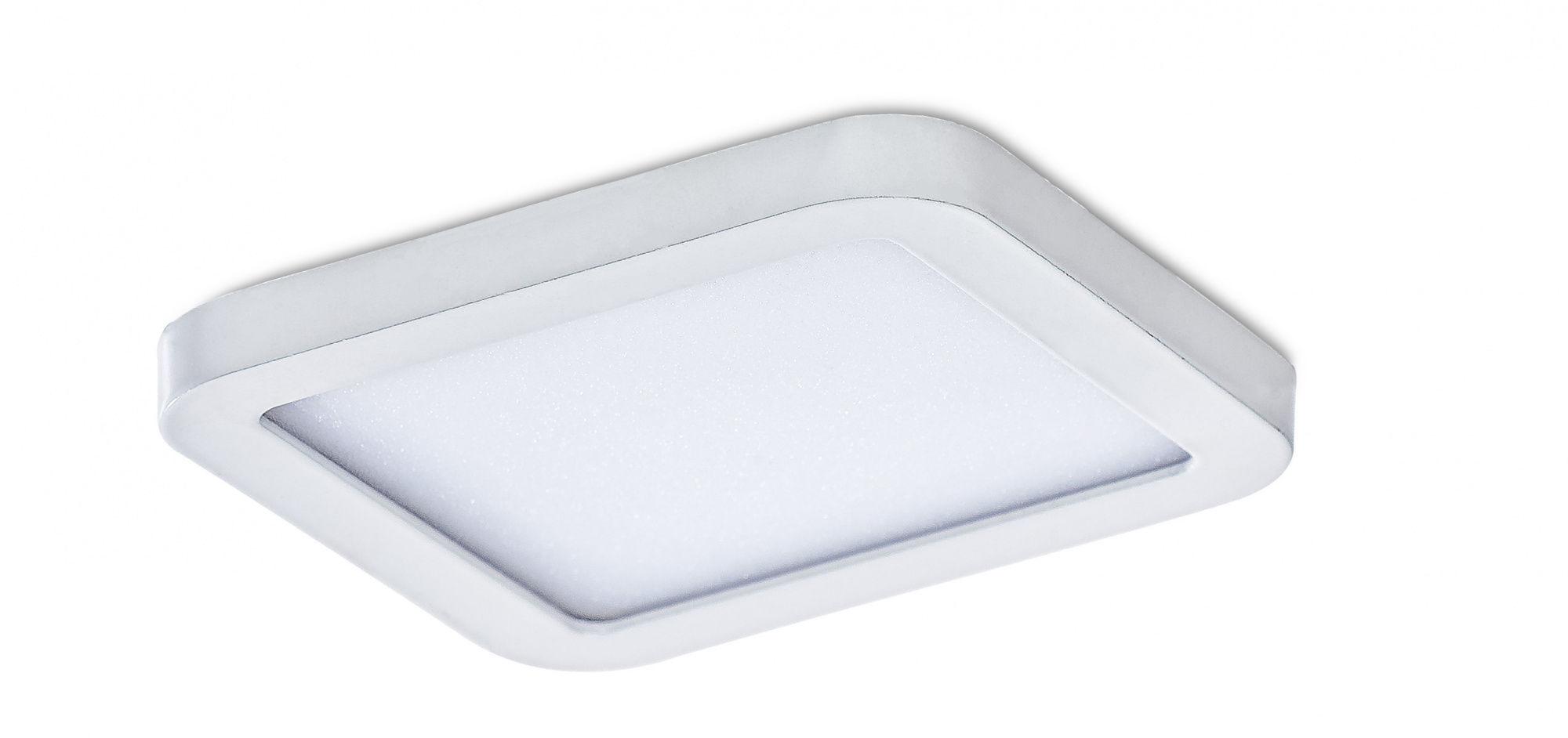 Plafon Slim square 9 AZ2830 AZzardo biała oprawa w nowoczesnym stylu