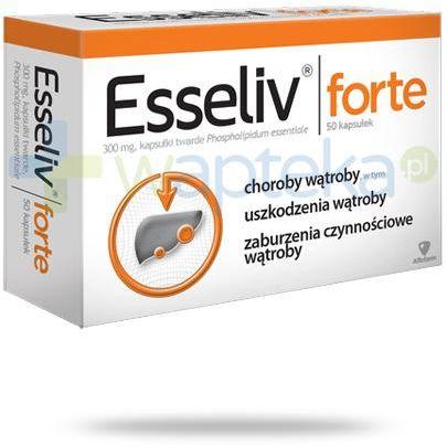 Esseliv Forte 300mg 50 kapsułek