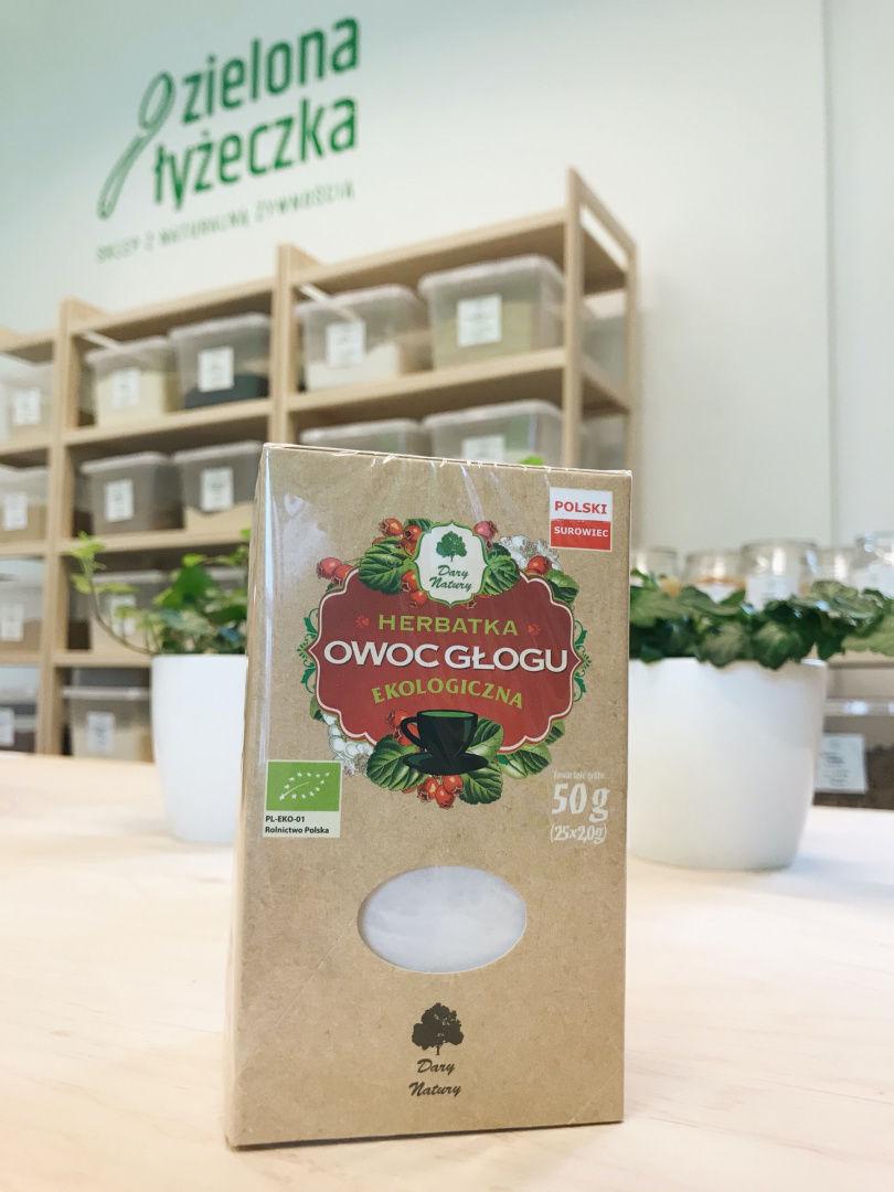 Herbatka Owoc Głogu Ekologiczna