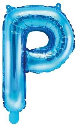 Balon foliowy P niebieski 35cm 1szt FB2M-P-001