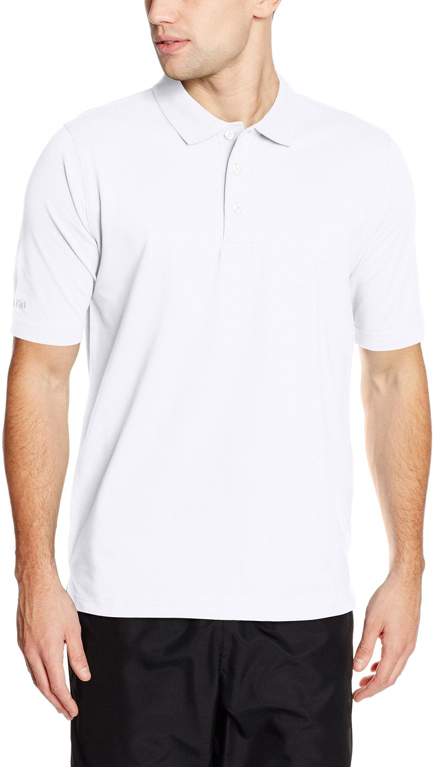 JAKO Męska koszulka polo Classic, biała, S