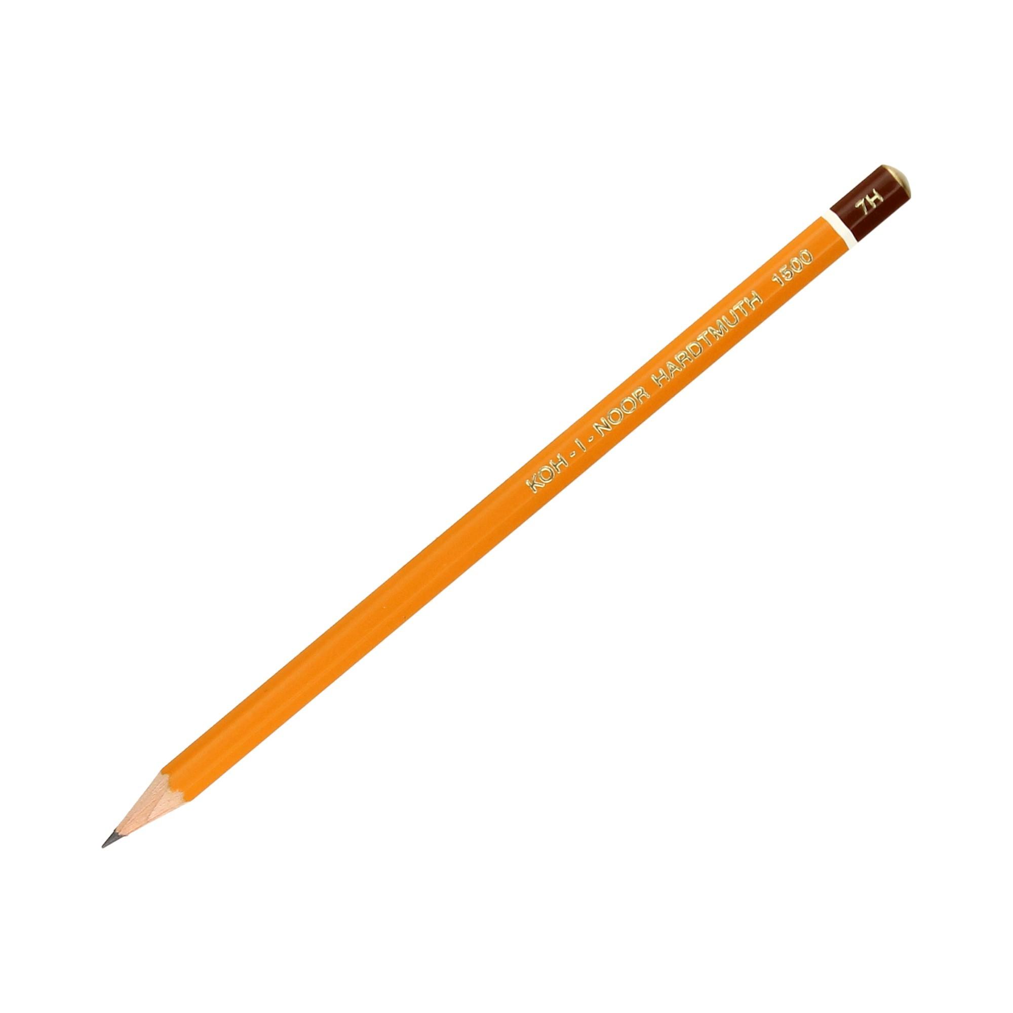 Ołówek techniczny 7H b/g KIN 1500