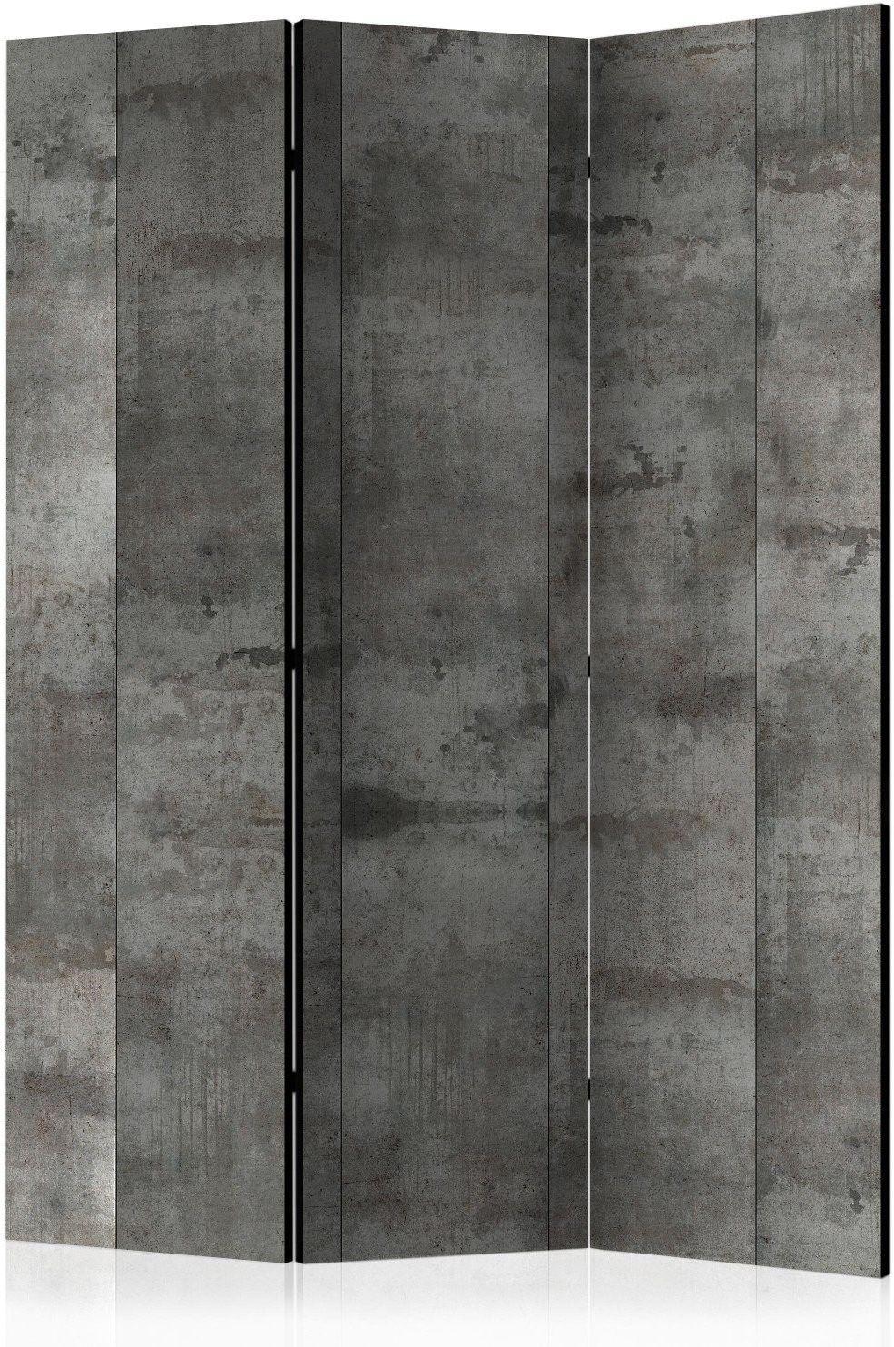 Parawan 3-częściowy - stalowy wzór [room dividers]