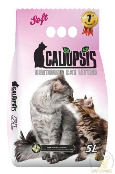 Caliopsis Compact Soft Żwirek Bentonitowy 5L