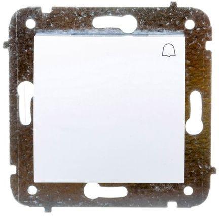 CARLA Przycisk dzwonek biały 1714-10