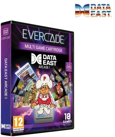 Evercade Data East Arcade 1