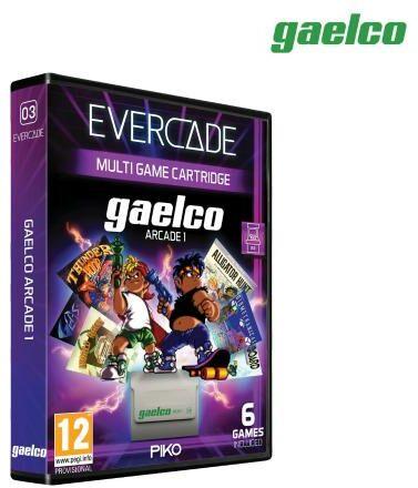 Evercade Gaelco Arcade 1
