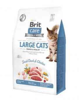 BRIT Care Grain Free Adult Large Cats z Kaczką i Kurczakiem 0,4 kg