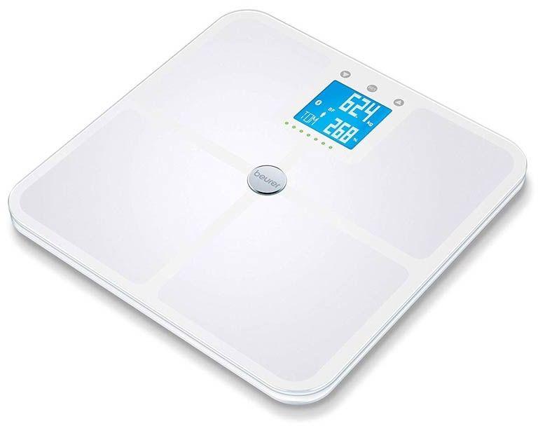 BEURER BF 950 BT white Waga diagnostyczna z analizą składu ciała, biała Bluetooth