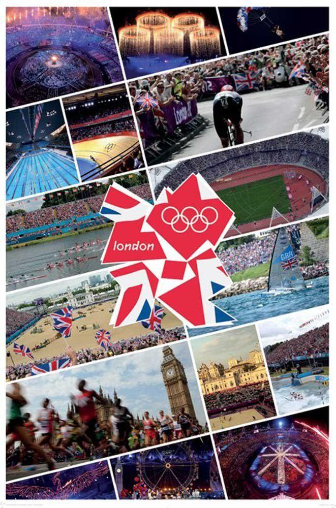 empireposter - London 2012 - Olympics - Collage - rozmiar (cm), ok. 61x91,5 - plakat, nowy -