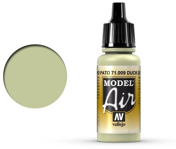 Vallejo Model Air Eau de Nil Duck Egg Green 71.009
