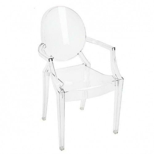 Krzesło dziecięce Royal Junior transparenetny