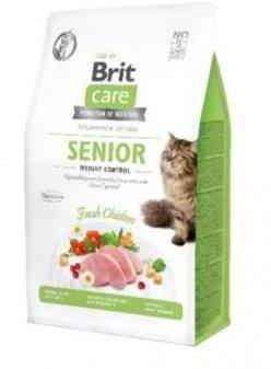 BRIT Care Grain Free Senior&Weight Control z Kurczakiem 0,4 kg