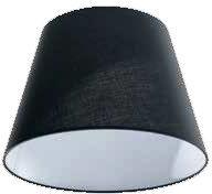 Abażur ZF AZ2600 26 Azzardo 26cm czarny klosz