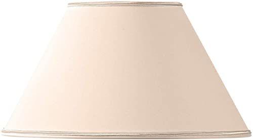 Klosz lampy w kształcie wiktoriańskim, 40 x 17 x 24 cm, beżowy/różowy
