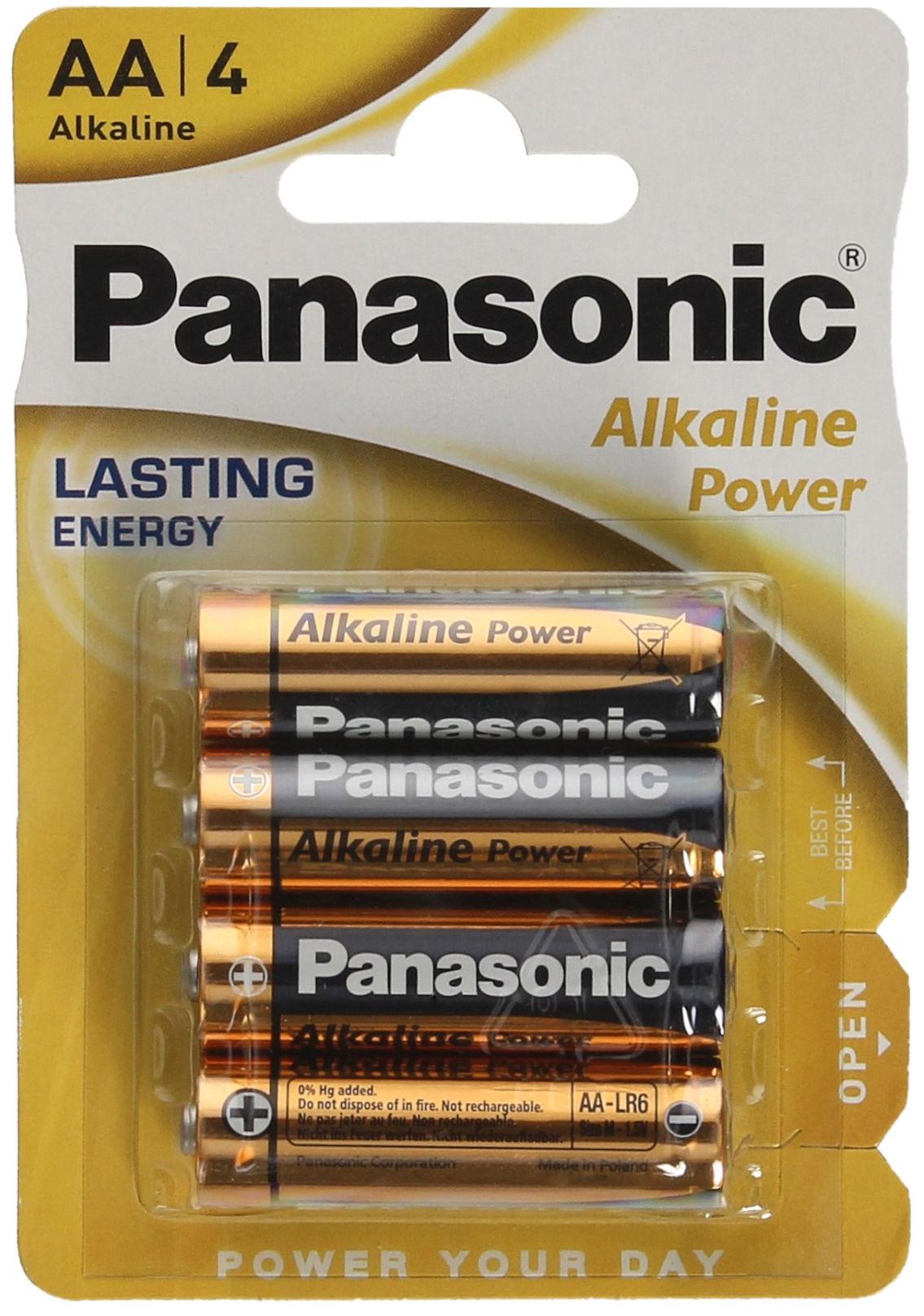Bateria alkaliczna LR6 AA Panasonic (4)