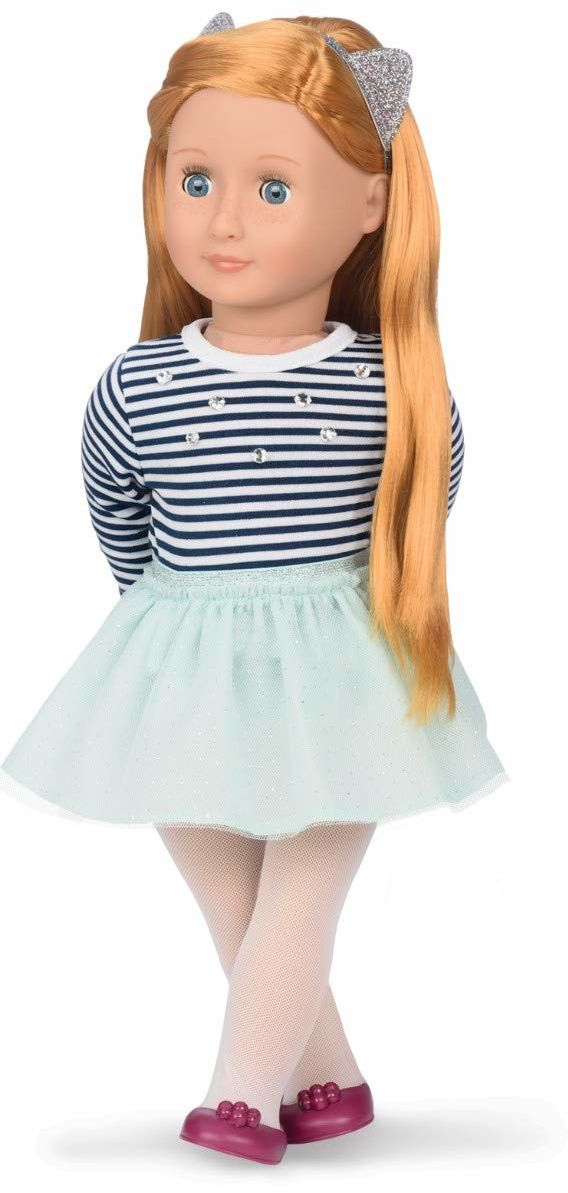 Our Generation BD31104 Doll w/Top & Tutu Skirt, Arlee