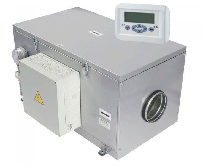 VPA 150-6,0-3 A16 Centrala wentylacyjna nawiewna z nagrzewnicą elektryczną i automatyką Centrala wentylacyjna nawiewna z nagrzewnicą elektryczną i automatyką