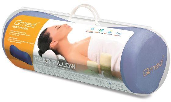 Odciążająca poduszka rehabilitacyjna do spania z pamięcią - wałek (head pillow)