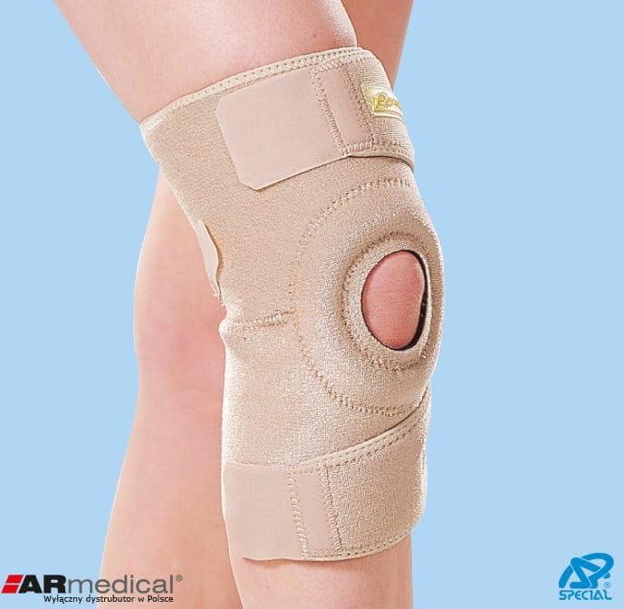 Stabilizator kolana zapinany