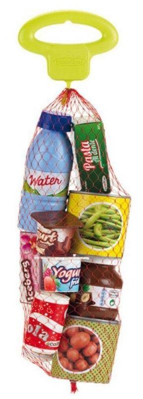 Ecoiffier Zestaw Produktów Spożywczych Puszki Pudełeczka w Siatce LK
