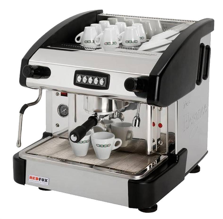 Ekspres do kawy 1-grupowy czarny 6L 2900W 500x600x(H)510mm