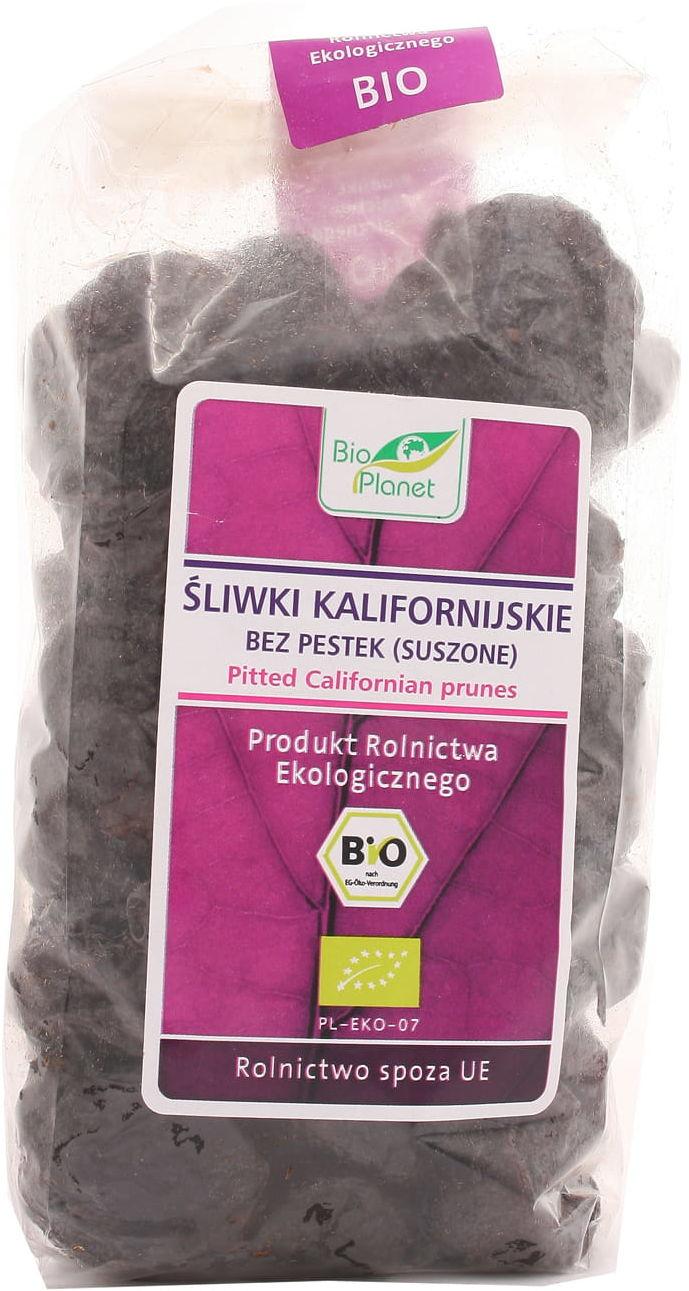 Śliwki kalifornijskie bez pestek suszone BIO - Bio Planet - 400g