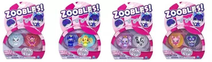 Zoobles Zwierzątka 2pak - Spin Master