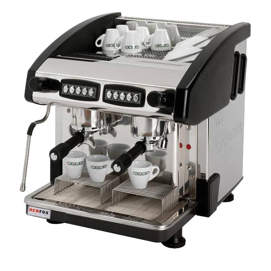 Ekspres do kawy 2-grupowy czarny 6L 2900W 500x600x(H)510mm
