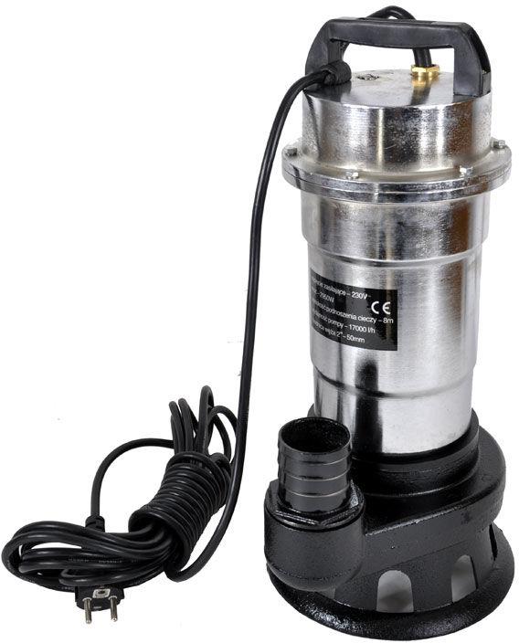 Pompa do szamba z rozdrabniaczem niklowana 550W