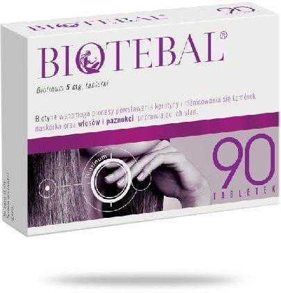 Biotebal 5 mg 90 tabletek