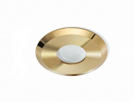 Oprawa sufitowa Oscar AZ2800 AZzardo okrągła oprawa w kolorze złotym