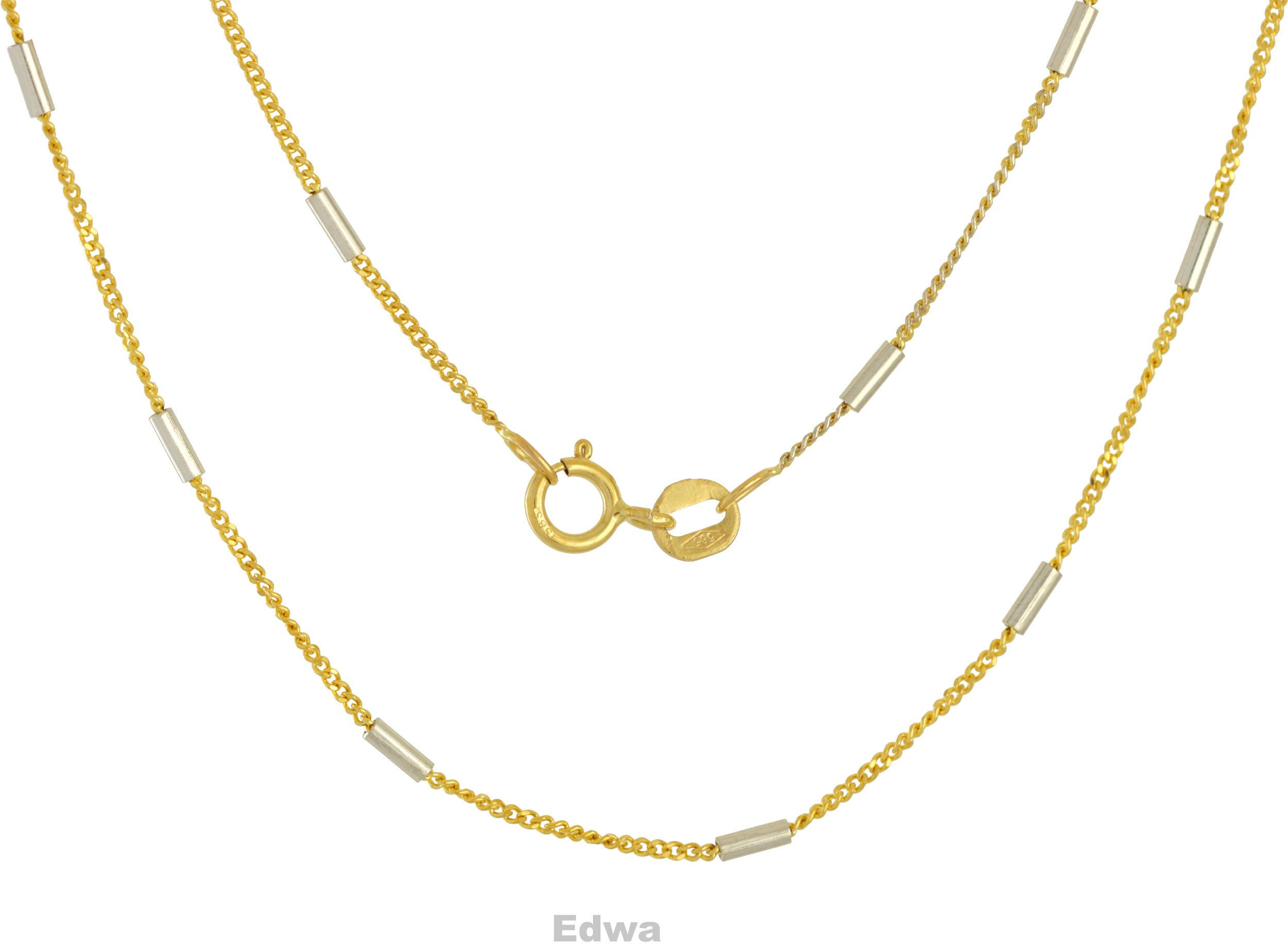 Łańcuszek złoty pr.585 42 cm