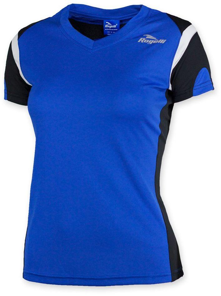 Rogelli Damski eabel Running Short Sleeve T-Shirt rozmiar L Royal Blue/Black/White
