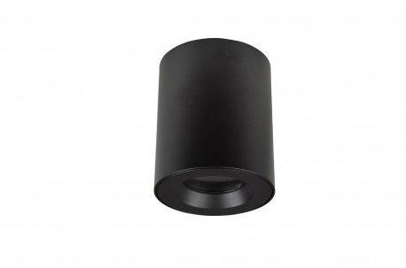 Plafon Aro AZ2558 AZzardo nowoczesna oprawa łazienkowa w kolorze czarnym