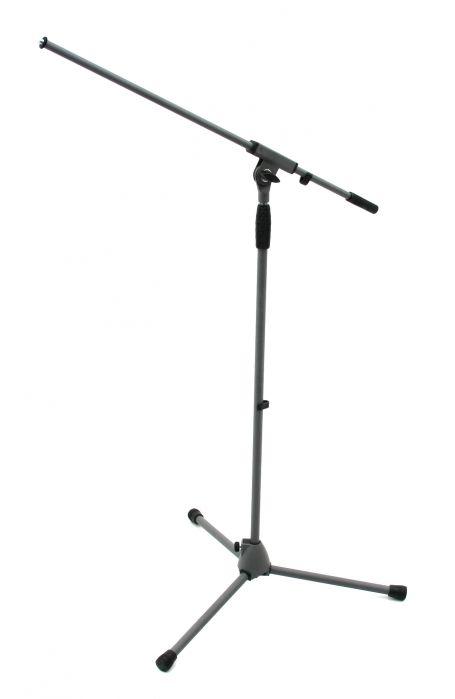 K&M 21060 gray statyw mikrofonowy soft touch