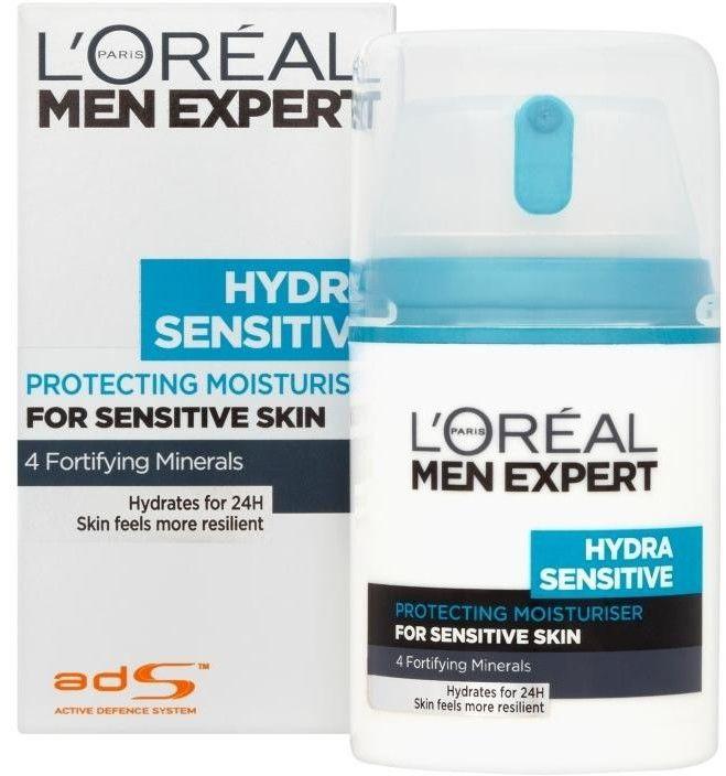 LOréal Paris Men Expert Hydra Sensitive krem nawilżająco-kojący dla cery wrażliwej 50 ml