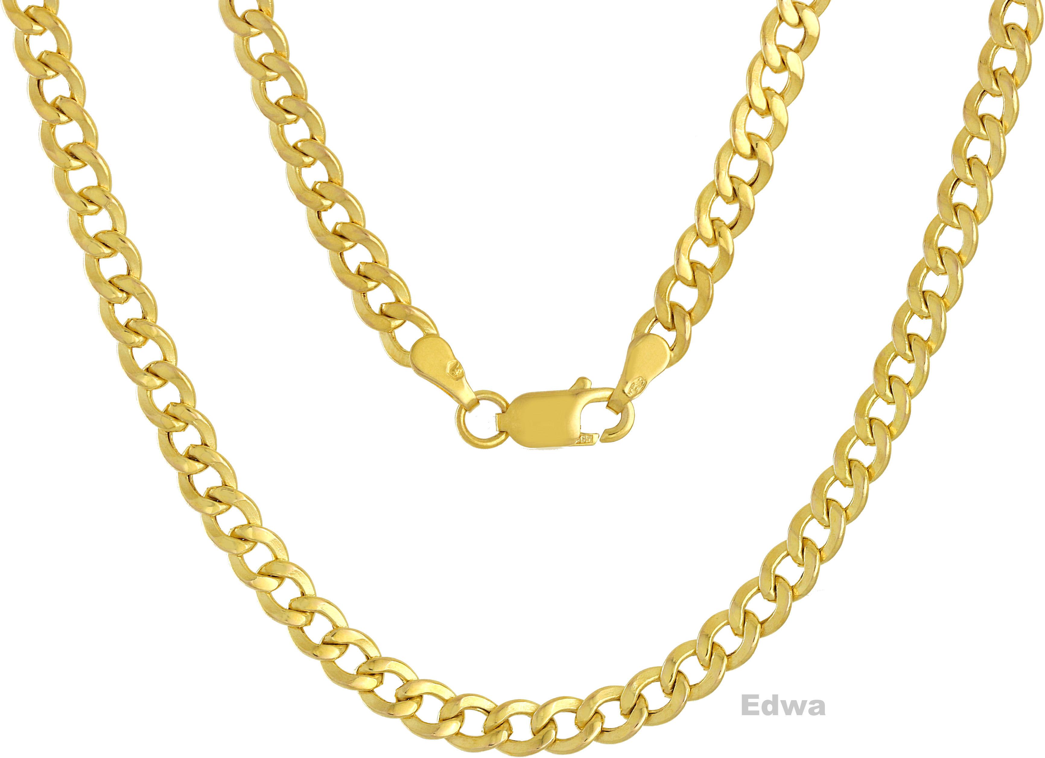 Łańcuszek złoty Pancerka pr.585 50 cm