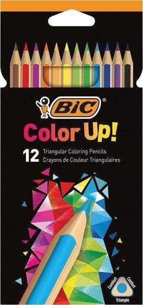 Kredki ołówkowe BIC Color Up pudełko 12 kolorów