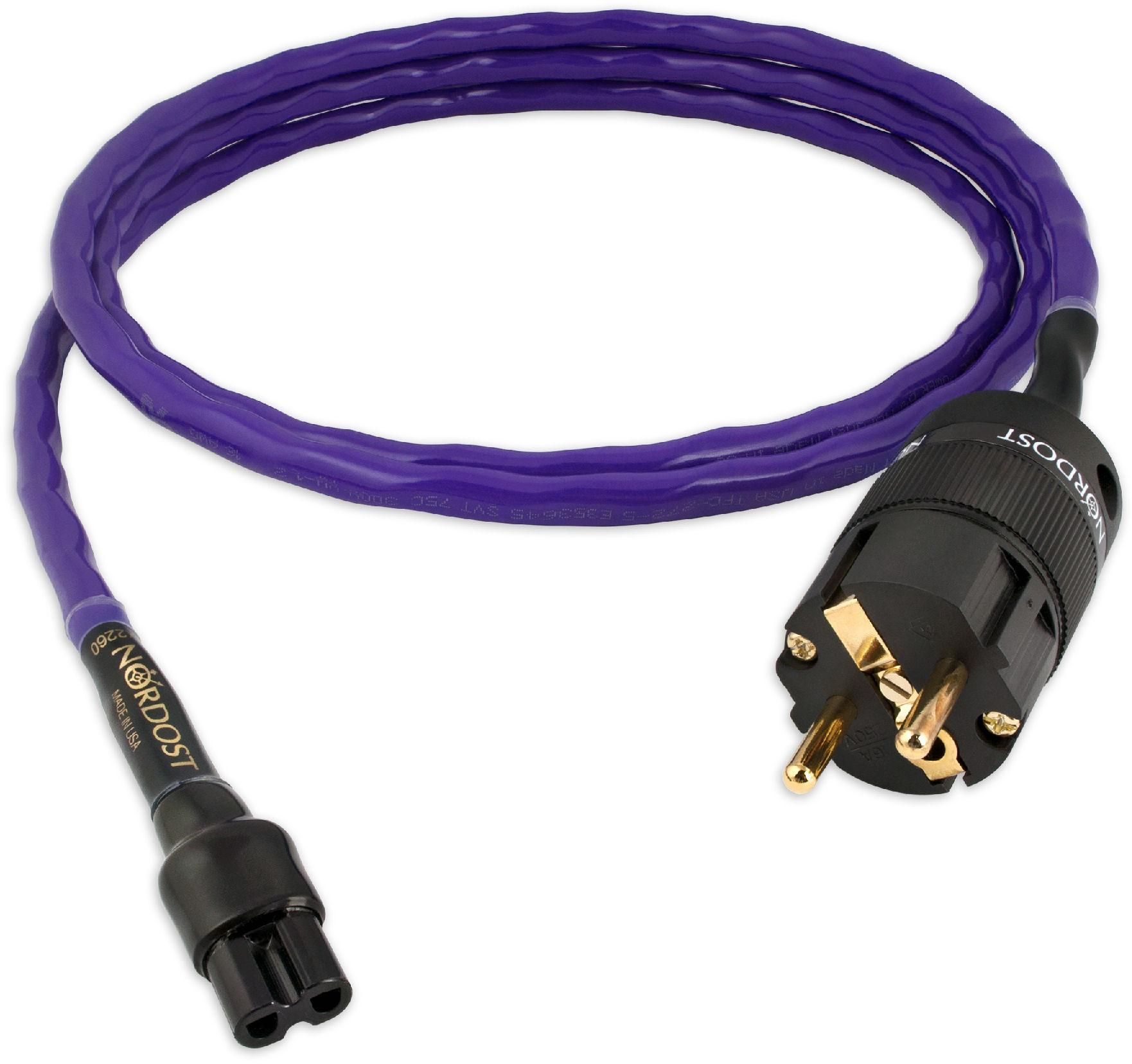NORDOST Purple Flare Kabel zasilający PFPWR -2.5M +9 sklepów - przyjdź przetestuj lub zamów online+