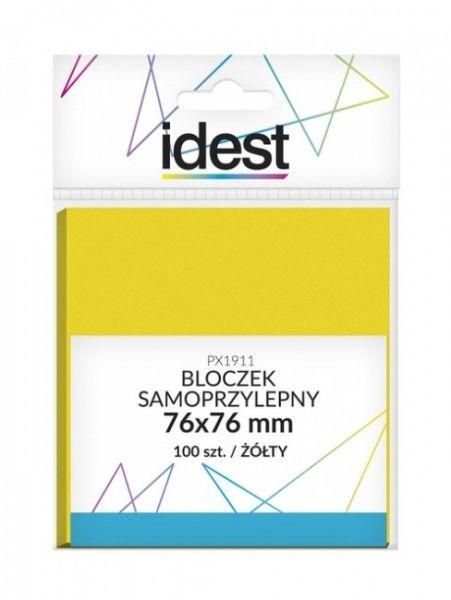 Bloczek samoprzylepny Oficio, 76 x 76 mm, 100 kartek, żółty -  Rabaty  Porady  Hurt  Wyceny   sklep@solokolos.pl   tel.(34)366-72-72
