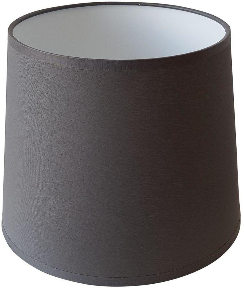 Abażur 9986 owalny 16-14 x 16 cm tkanina szary E27 TK LIGHTING
