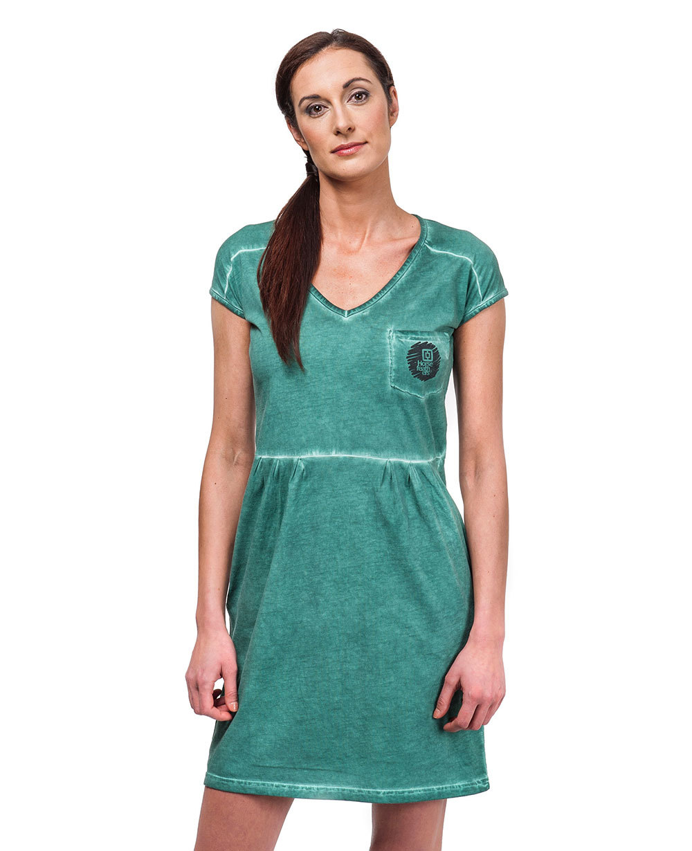 sukienka damska HORSEFEATHERS ARLETTE DRESS (washed green)