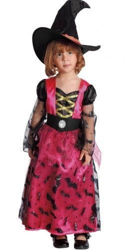 Kostium Mała Różowa Czarownica