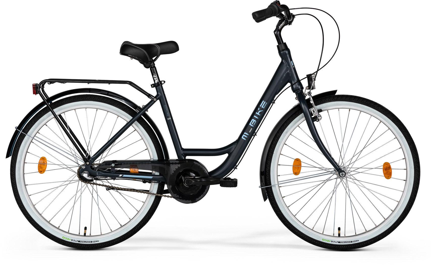 """Rower M_Bike CITYLINE 328 grafitowy 28"""" 2021"""
