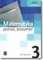 Matematyka poznać zrozumieć kl.3-zbiór zadań